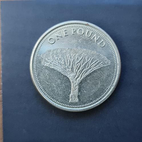 Gibraltar Dragon Tree £1 - 2015