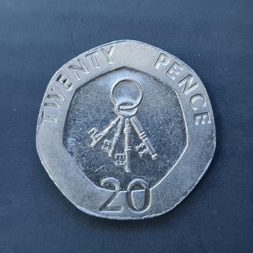Gibraltar Keys 20p - 2005