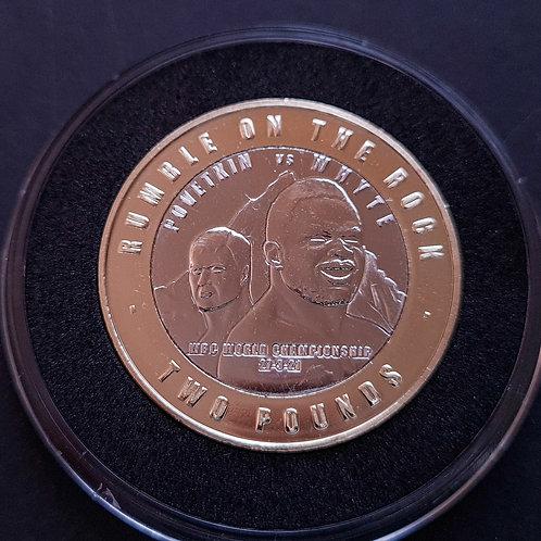 Gibraltar Rumble on the Rock £2 Coin - 2021 BUNC Bi-Metallic