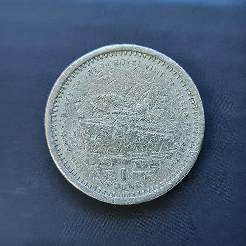 Gibraltar Royal Visit £1 - 1994