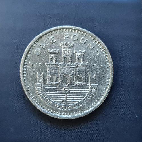 Gibraltar Moorish Castle £1 - 2002 AB