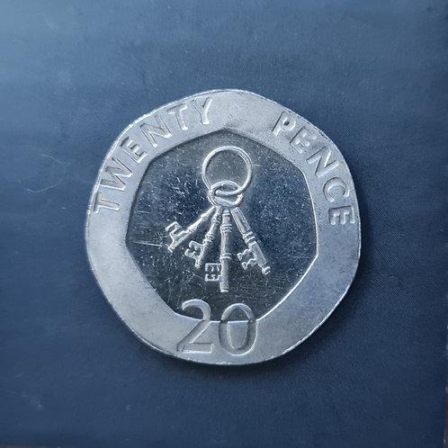Gibraltar Keys 20p - 2012