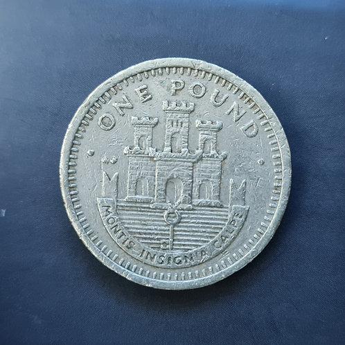 Gibraltar Moorish Castle £1 - 1989