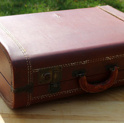 Brown Vintage Suitcase