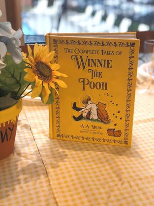 Winnie the Pooh Baby Shower Details
