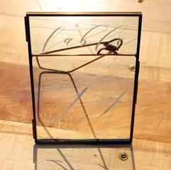 Gold Glass Frame