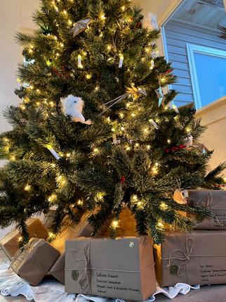 Hogwarts Inspired Christmas Tree