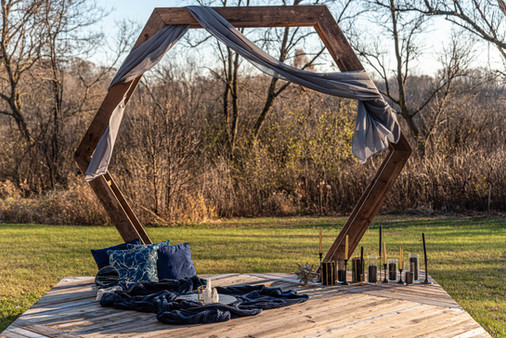 Celestial Arbor with Lounge