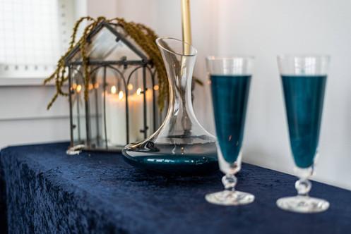 Moody Celestial Bar Table