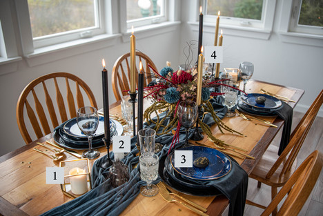 Moody Celestial Guest Table
