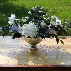 Mercury Compote Vase