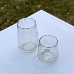 Glass Bubble Vases