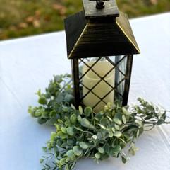 Bronze Lanterns with LED Candle