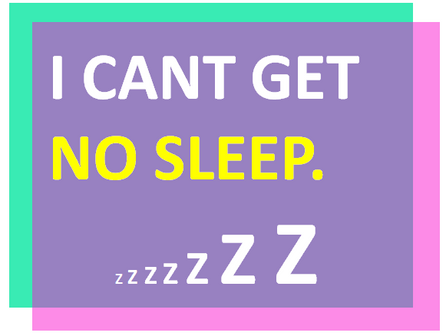 I can't get no sleep. How to fall asleep naturally!