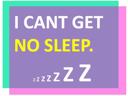 I can't get no sleep. How to fall asleep naturally!