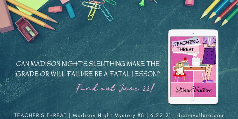 Teacher's Threat, Madison Night Mystery 8, Teaser