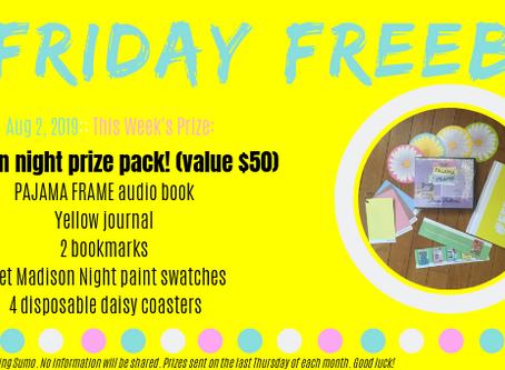 Friday Freebie - august 2, 2019