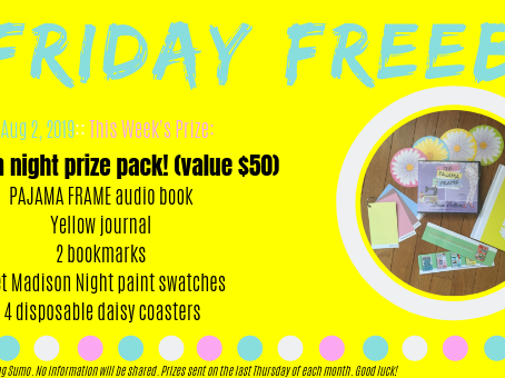 Friday Freebie - august 2, 2019