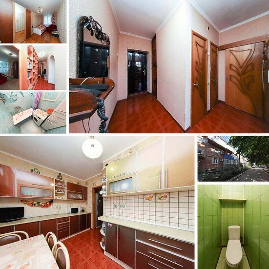 Четырёхкомнатная квартира в хорошем состоянии по цене двухкомнатной квартиры.