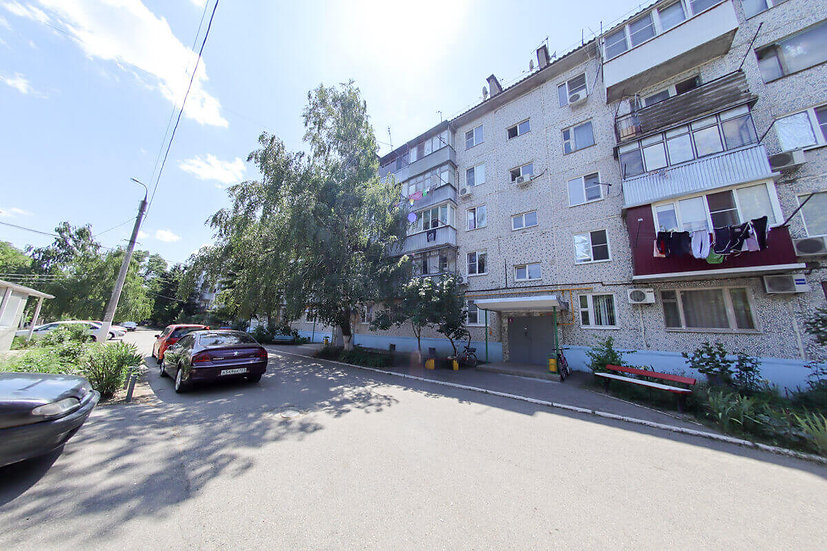 Четырёхкомнатная квартира с ремонтом и мебелью на Витаминкомбинате в Краснодаре.