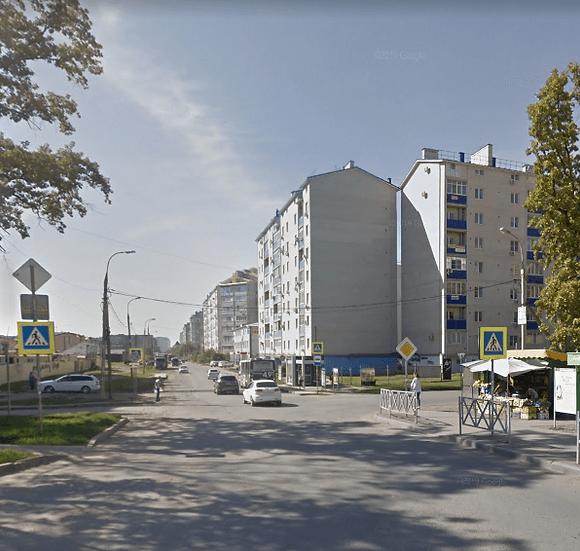 """Однокомнатная квартира в кирпичном доме вблизи стадиона """"Краснодар""""."""
