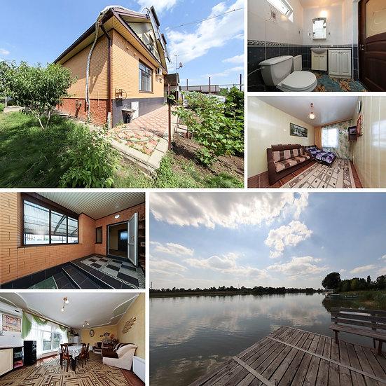 Дом с выходом к реке и собственным причалом (дом для рыбака)