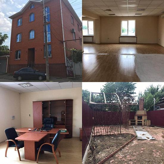 Отдельное стоящее зданиекоммерческого назначения с ремонтом в центре Краснодара