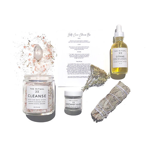 SELF-CARE CLEANSE GIFT SET