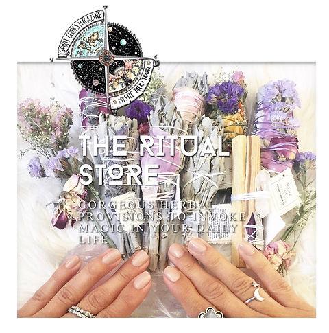 the ritual store smudging sage spirit guides magazine