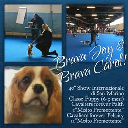 Joy & Carol a San Marino