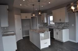 White, Grey and Black Kitchen