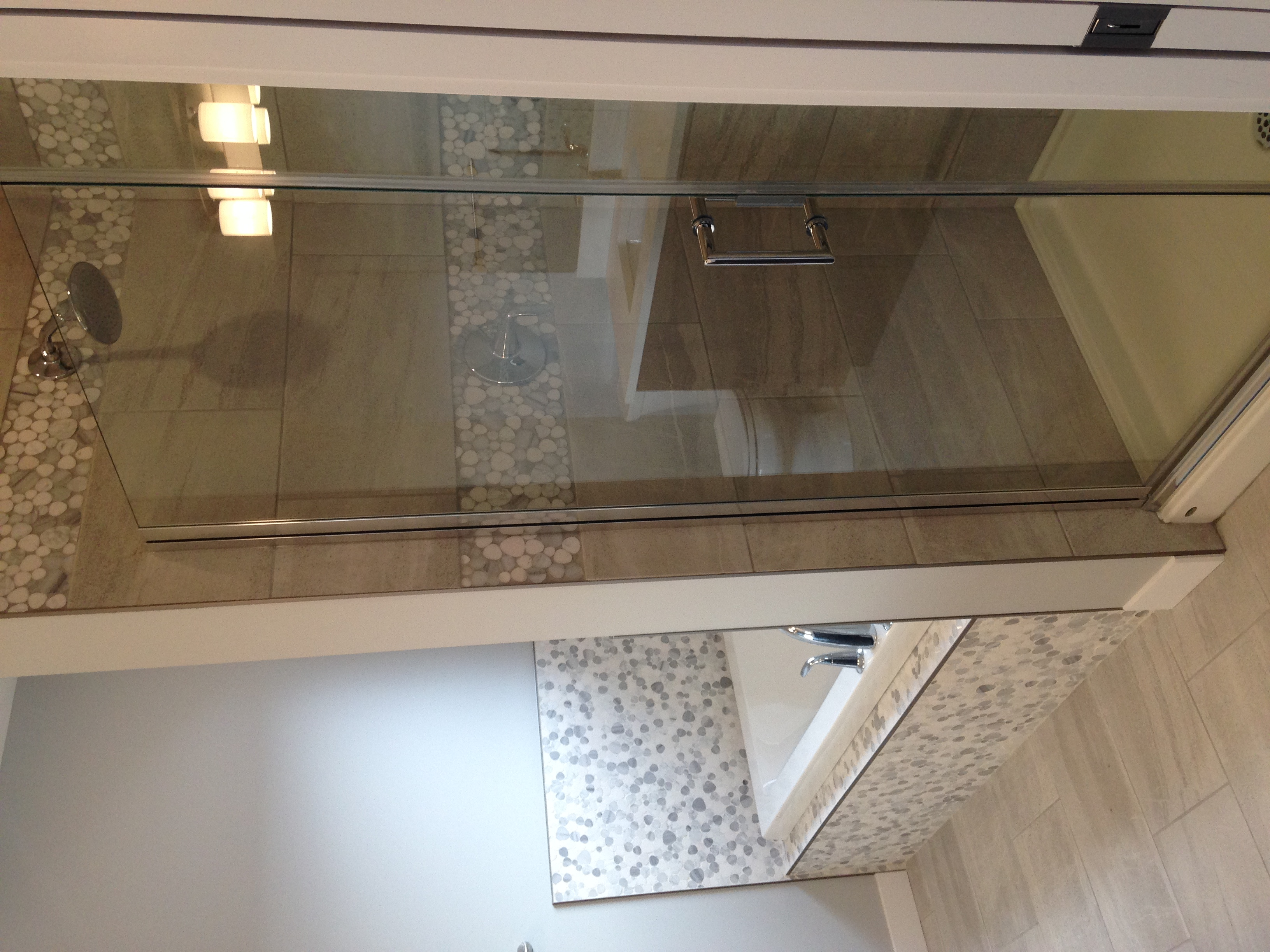 Master Ensuite Walk in Shower & Tub