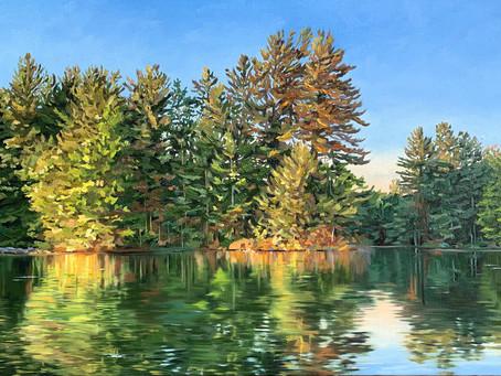 New Work: Pine Shadows