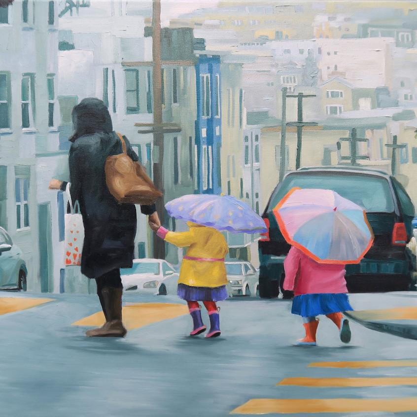 Rainy Day Sunshine, San Francisco