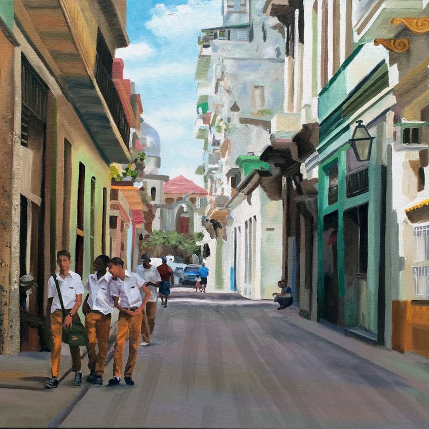Tres Amigos, Havana, Cuba