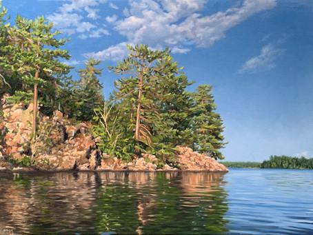 New Work: Rocky Pine Point