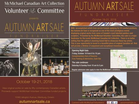 McMichael Autumn Art Sale