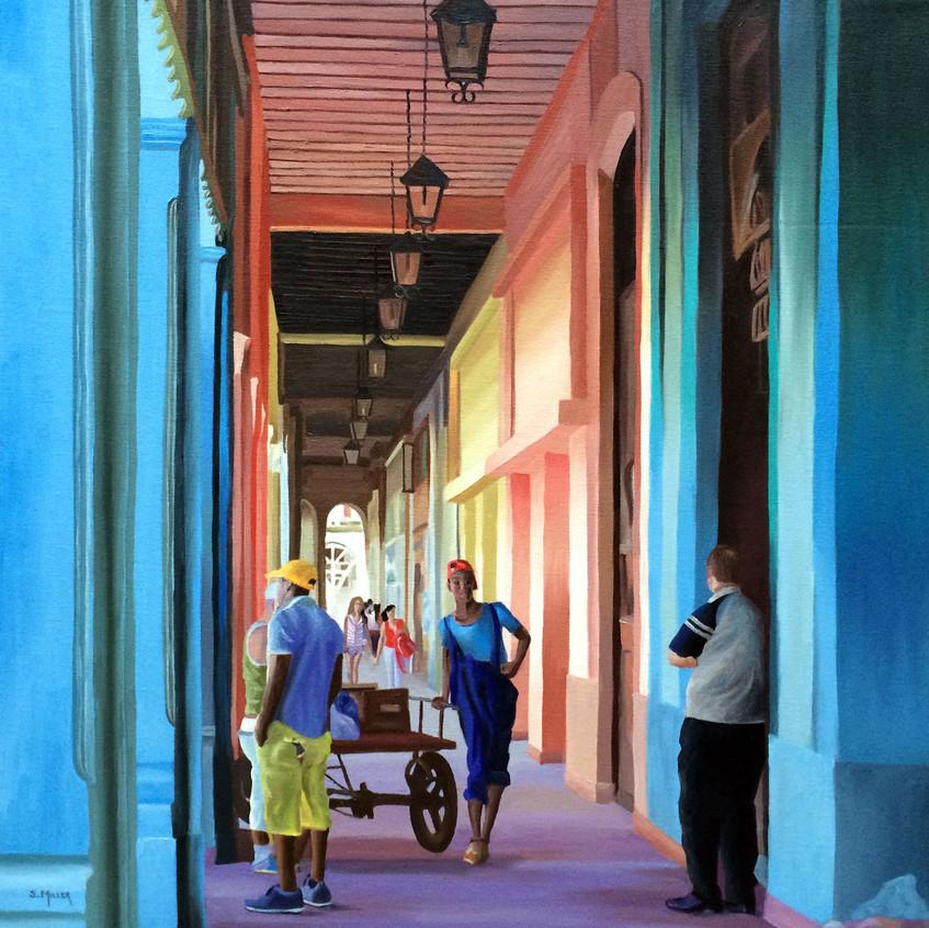 Taking a Break, Havana, Cuba
