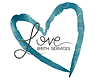 Heart Logo with Love Birth Services