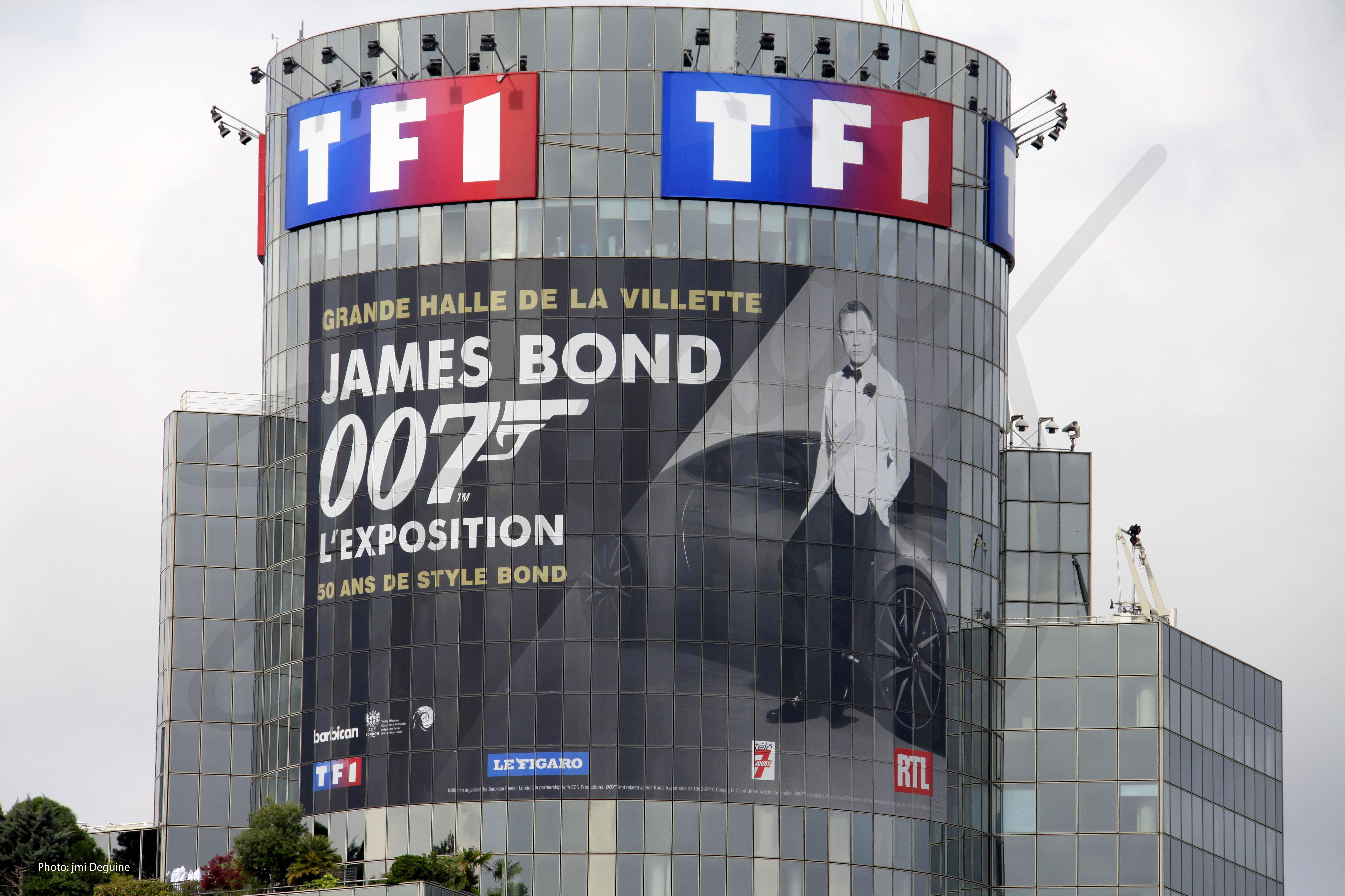 Tour TF1 James Bond