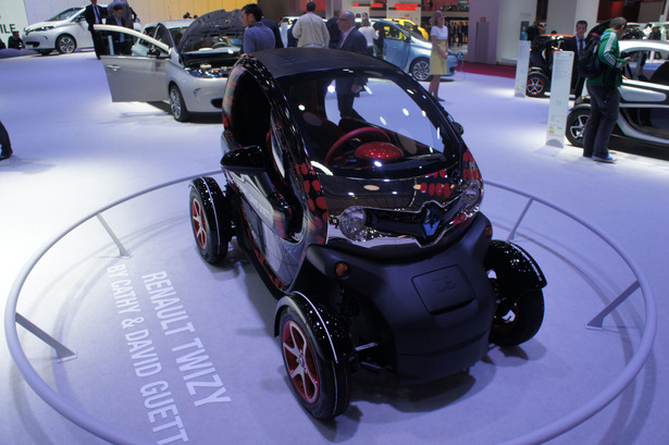 Renault Twizy by Cathy et David Guetta