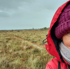 Artist in Residence for the Heritage Lottery on the boglands of County Tyrone, Northern Ireland