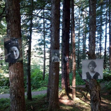 Irish Women Immigrant Installation - Alaska