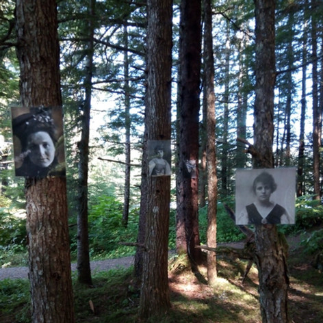 Irish Women Immigrant Installation - Alaska