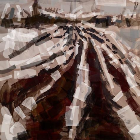 Path Way - Cut bogland sketch