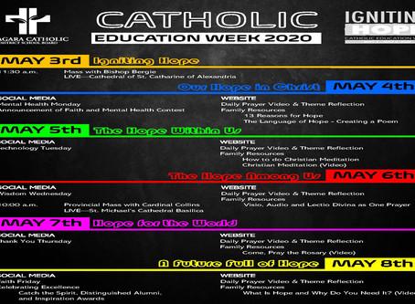 Niagara Catholic Celebrates Catholic Education Week