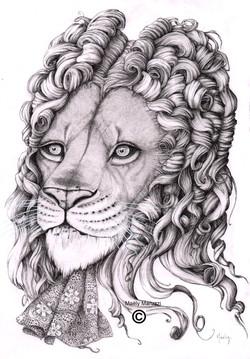 Le personnage du lion