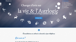 Site vitrine Astrologie