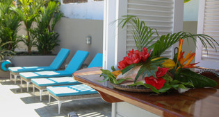 Bain de soleil maison d'hôtes Le Cap Est