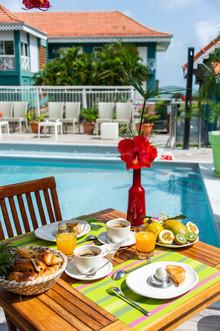 Petit déjeuner hôtel Martinique
